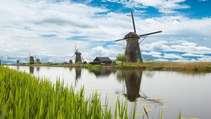 Molen in Friesland